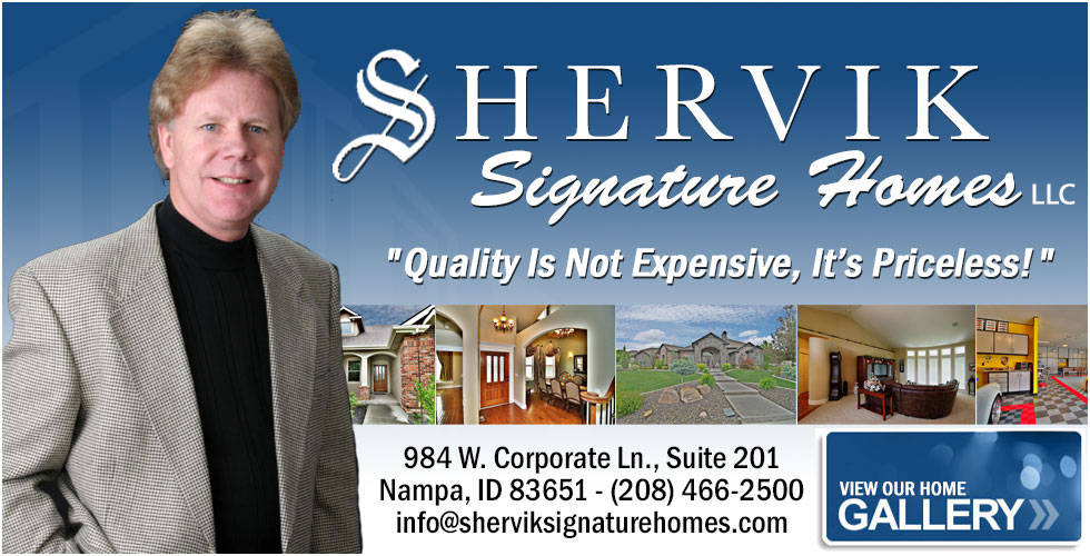 Shervik Signature Homes - Nampa, Boise, Idaho, Custom Home Builders